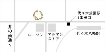渋谷店マップ